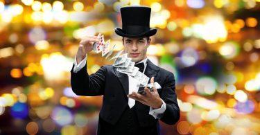 magicien fête d'anniversaire